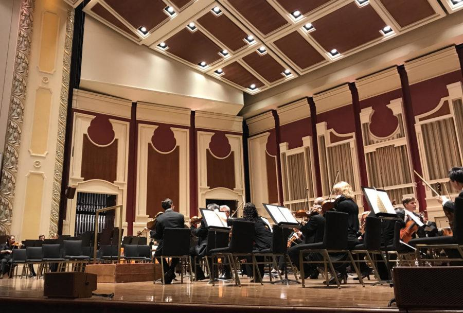 The+Pittsburgh+Symphony+Orchestra+performed+their+program+%E2%80%9CShostakovich+Triumphant%E2%80%9D+at+Heinz+Hall+Sunday.+%28Photo+courtesy+of+Joanna+Li%29