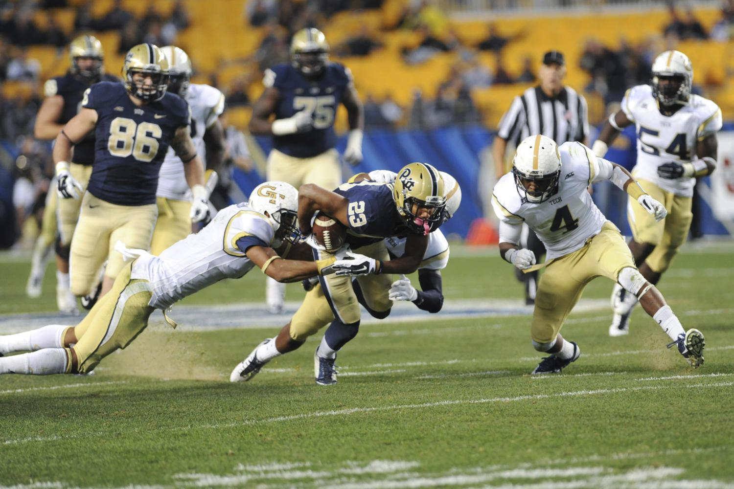 Pitt suffered a 56-28 loss at the 2014 homecoming game against Georgia Tech. (TPN File Photo)