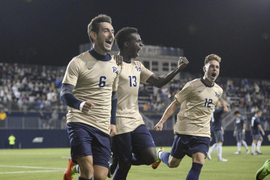 The Pitt men's soccer team is now 6-5-0 with two wins against ranked teams. (Thomas Yang / Staff Photographer)