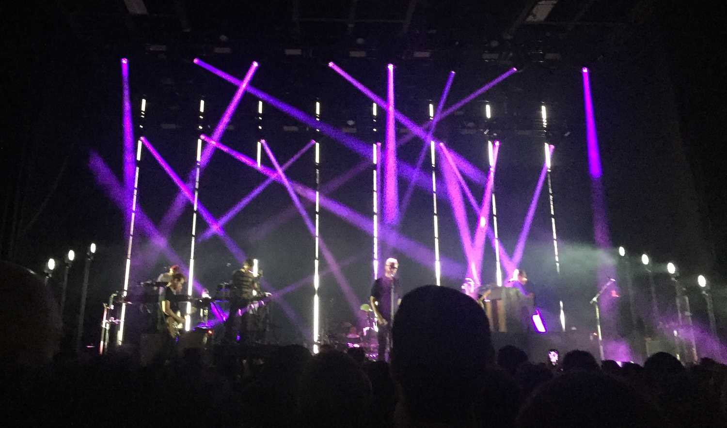 The National, an indie rock band from Cincinnati, played at Stage AE Saturday night. (Photo courtesy of Lexi Kennell)