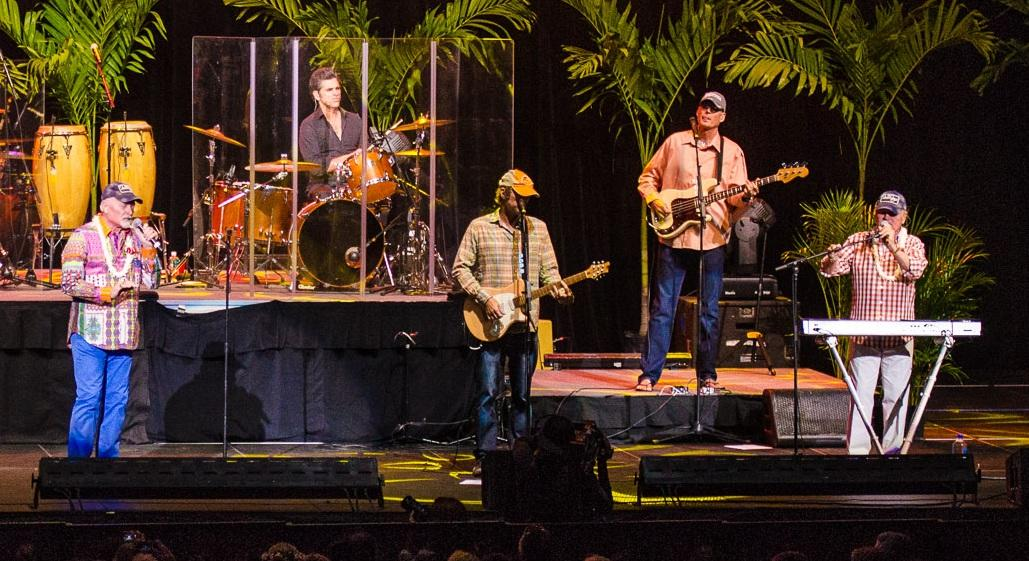 The Beach Boys perform at the Neal S. Blaisdell Center in Honolulu in 2014. (Photo via Wikimedia Commons, Peter Chiapperino)
