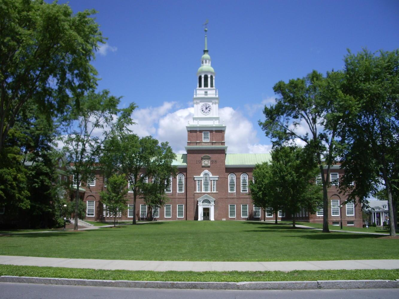 Three Dartmouth College professors were placed on paid leave after they were accused of sexual misconduct. (Photo via Wikimedia Commons)