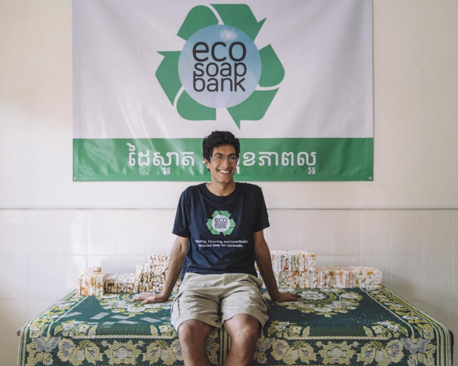 Pitt+alum+Samir+Lakhani+founded+the+nonprofit+organization%2C+Eco-Soap+Bank+during+his+senior+year+at+Pitt+in+2014.+%28Photo+courtesy+of+Samir+Lakhani%29