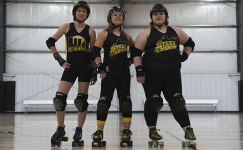 On the flat track: new class of derby skaters trains