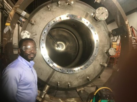 Alum studies safety of nuclear energy