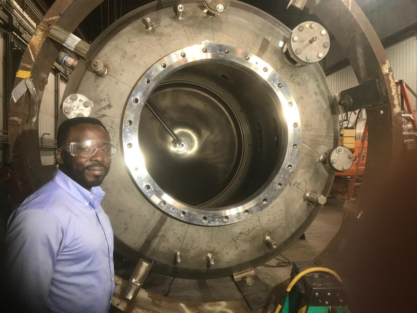 Sola Talabi, a Pitt alumnus and founder of Pittsburgh-Technical, is researching advanced nuclear reactors in Pittsburgh. (Courtesy Photo of Sola Talabi)