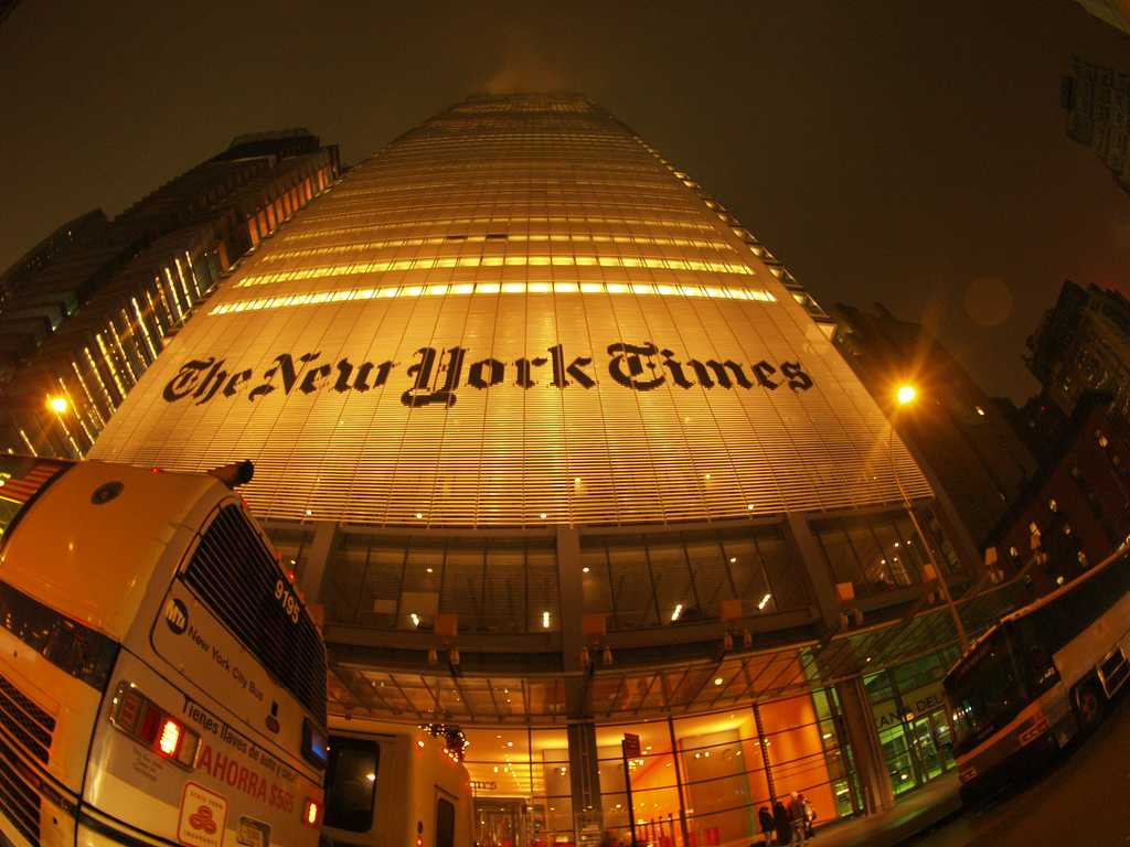 The New York Times has received significant criticism for a profile about a neo-Nazi the paper published Saturday. (Photo via Flickr)