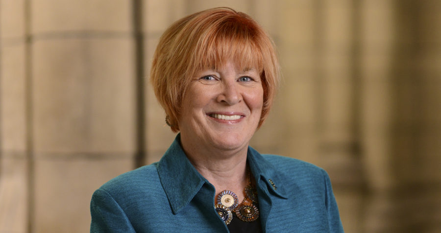 Provost Patricia Beeson will step down from her position in the fall of 2018. (Photo courtesy of the University of Pittsburgh)