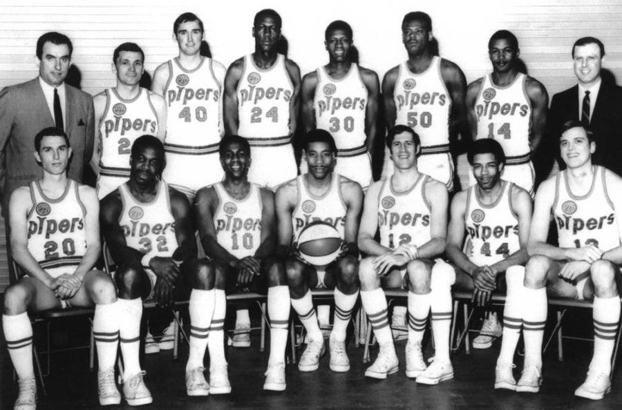 The+Pittsburgh+Pipers+were+the+ABA+champions+in+1968.+Now%2C+50+years+later%2C+the+players+reflect+on+their+time+on+the+team+%E2%80%94+a+footnote+in+steel+city+sports+history.+%28Photo+courtesy+of+Heinz+History+Center%29