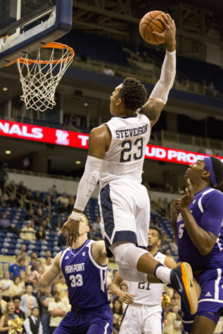 Carr leads Pitt to victory over High Point, 71-63