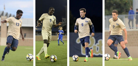 Four Pitt men's soccer players earn all-ACC honors