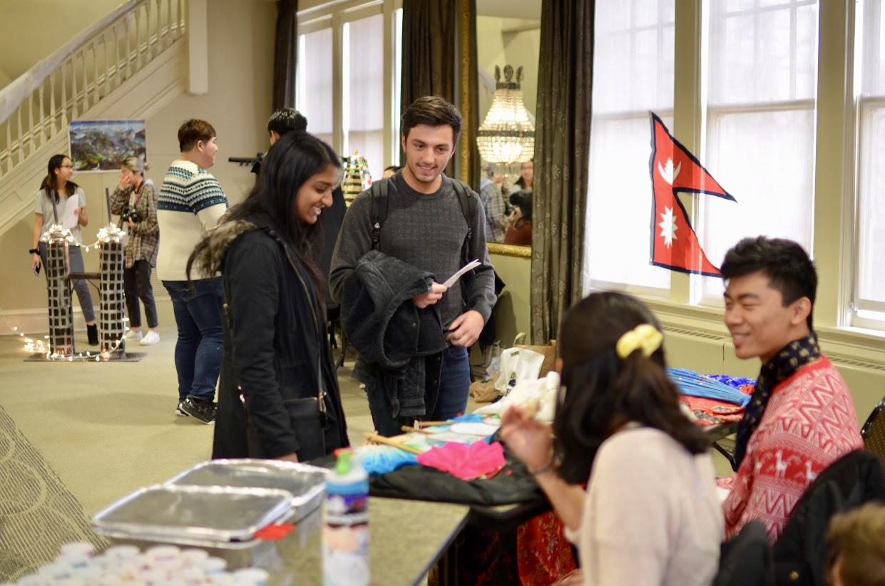 Pitt's Asian, Korean, Vietnamese, Chinese American and Filipino students alliances each hosted an exhibit pertaining to a city of their culture at the XSA Asian Culture Fair in the O'Hara Student Center Saturday. (Photo courtesy of Chinese American Student Association)