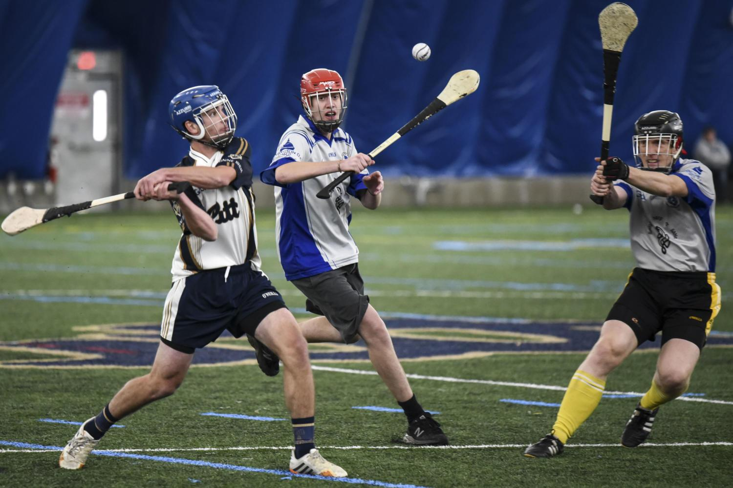 The club team played in the Midwest Finals against Purdue and the Washington, D.C., Gaels from Catholic University of America in November. (Photo by Matt Hawley | Staff Photographer)