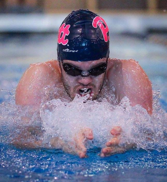 Sophomore+Brian+Ramsey+advanced+to+the+second+round+of+finals+in+the+USA+Swimming+Winter+National+Championships+on+Friday.+%28Photo+courtesy+of+Pitt+Athletics%29