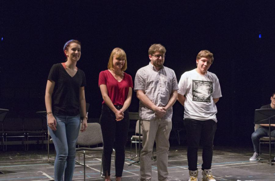 As part of the third annual Playwriting Festival, Pitt students showcased three original plays in the Cathedral of Learning Jan. 21. (Photo Courtesy of Allen Howard/HDIC Productions)