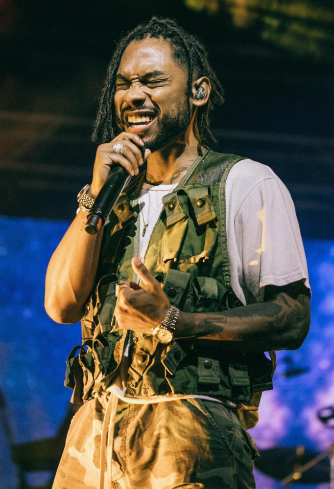 "Miguel's latest album ""War & Leisure"" steps outside the bounds of the R&B genre. (Photo via Wikimedia Commons)"