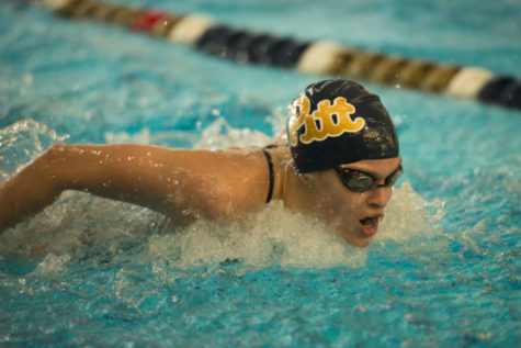 Pitt swim finds mixed results in Morgantown