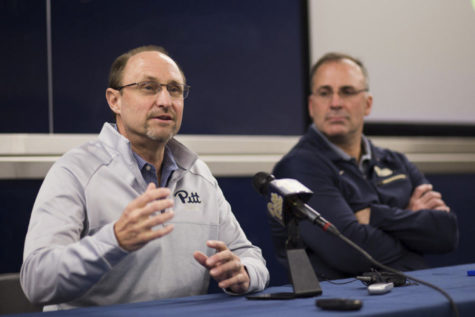 Randy Bates feels welcome at Pitt