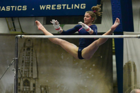 Balancing act: Panthers gymnastics combine youth and experience