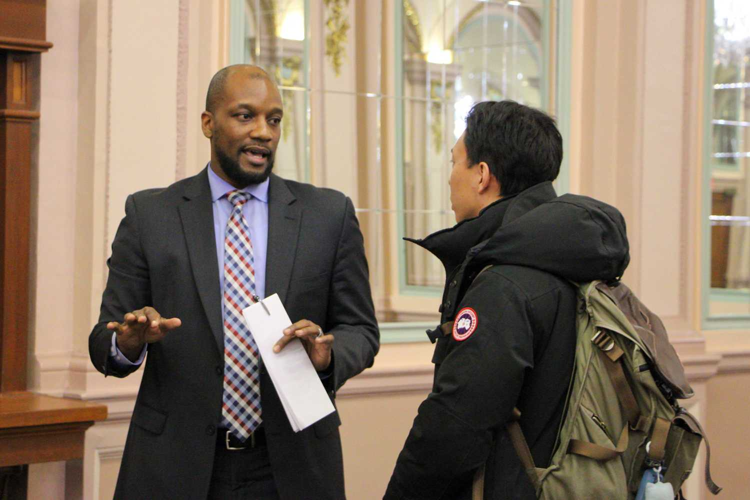 Dean of Students Kenyon Bonner, pictured here in March 2017, spoke with The Pitt News Tuesday about the current state of Greek life on campus. (TPN File Photo)