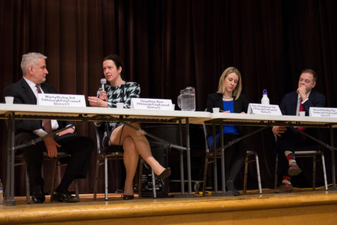 District 8 candidates debate water, air, amazon