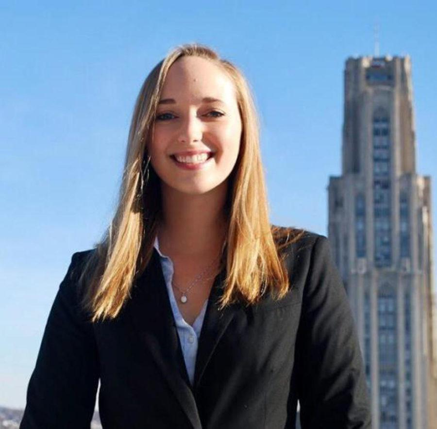 The Pitt News editorial board endorses Maggie Kennedy for SGB president. (Photo via Student Government Board)