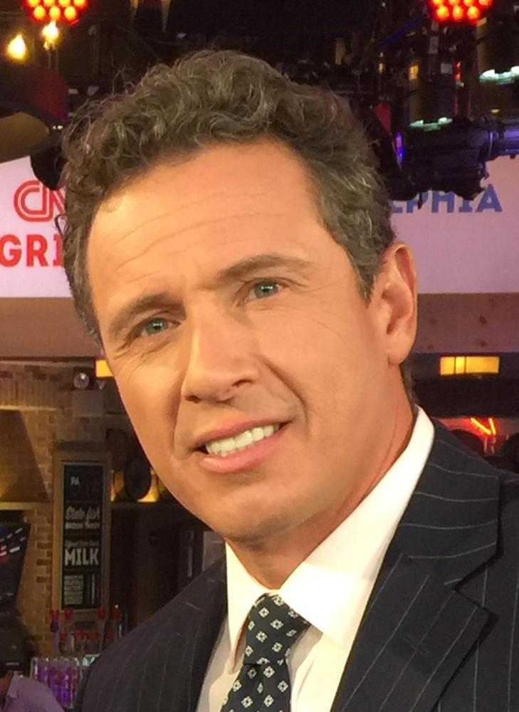 CNN journalist Chris Cuomo at the 2016 Democratic National Convention. (Photo via Wikimedia Commons)