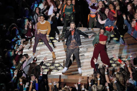 Cry me a river: Timberlake's controversial Super Bowl homage to Prince