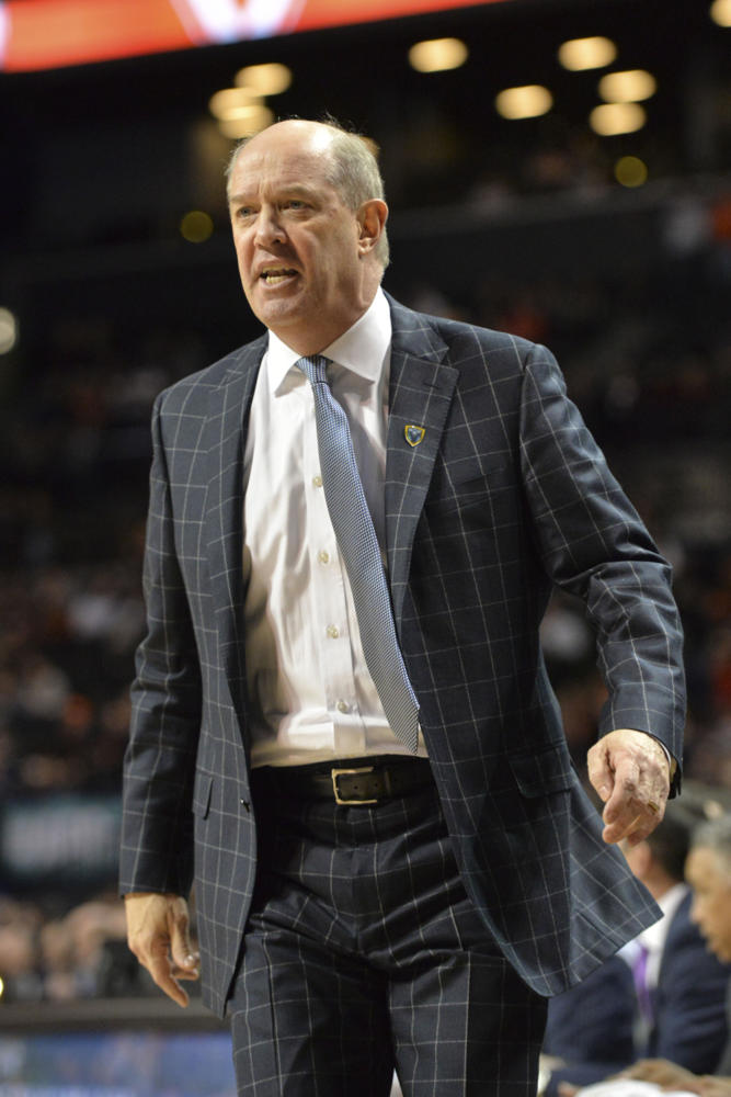 Pitt men's basketball head coach Kevin Stallings has led the Panthers on a losing streak, having not won a game in more than a month. (Photo by John Hamilton | Managing Editor)