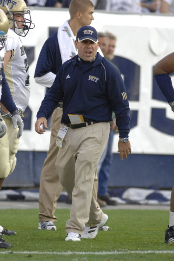 Pitt+football+defensive+line+coach+Charlie+Partridge+was+promoted+to+assistant+head+coach.+%28Photo+courtesy+of+Pitt+Athletics%29%0A