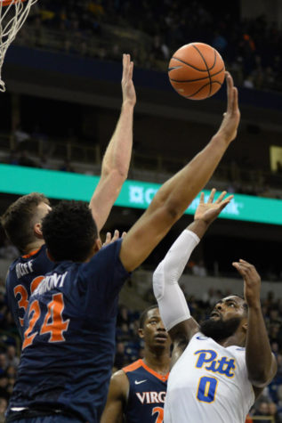 No. 1 Virginia vanquishes Pitt, 66-37, in last home game of the season