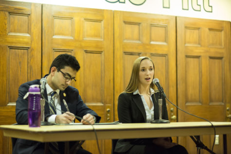 SGB candidates debate for presidency