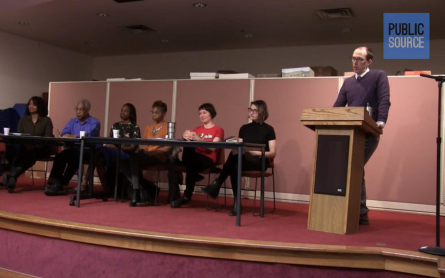Panelists+discuss+the+consequences+of+Amazon+coming+to+Pittsburgh+Saturday.+%28Screenshot+courtesy+of+PublicSource%29