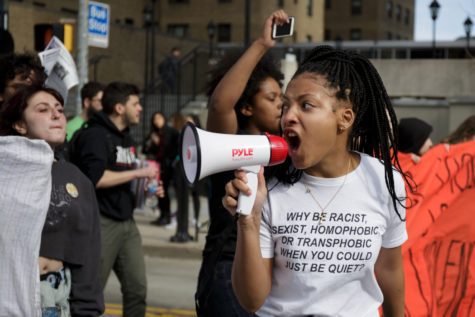 Photos: Blacks Lives Matter and Never Again protest