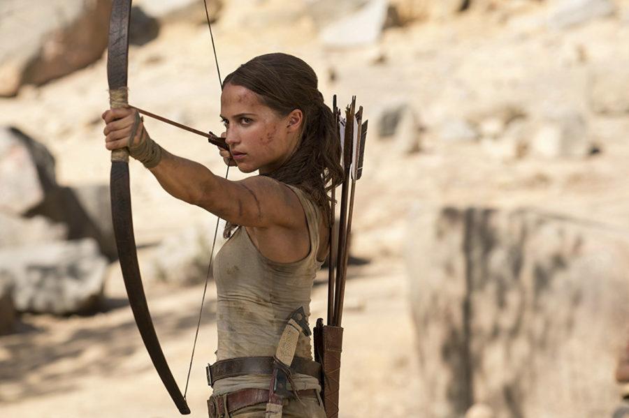 Alicia+Vikander+in+%22Tomb+Raider.%22+%28Warner+Bros.+Entertainment%2FTNS%29+