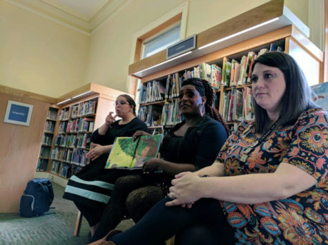 Carnegie library hosts drag queen story hour