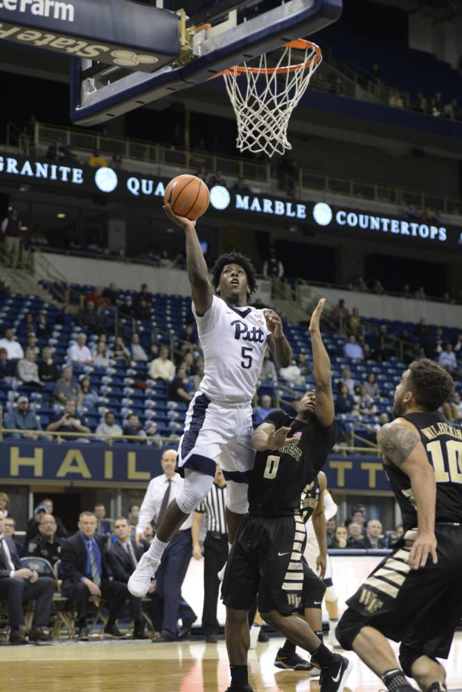 Marcus Carr (5), first-year point guard, is one of seven players to have requested their release after the firing of head coach Kevin Stallings and one of two players to have officially been granted his release. (Photo by Thomas Yang | Visual Editor)