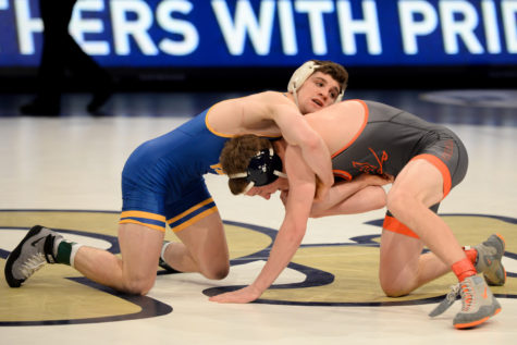 Panthers tap out early at NCAA championships