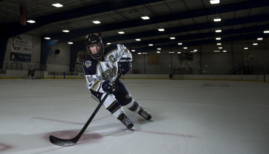 Jackie Sharp was encouraged to put her hockey career on hold after a startling medical discovery,  but that didn't keep her from the game she loves.