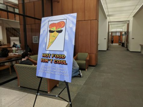 No hot food for thought: Hillman enforces food policy