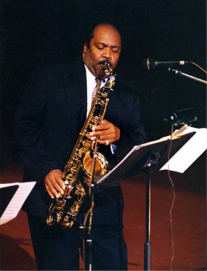 Nathan Davis, former professor in Pitt's Department of Music and renowned jazz musician, died Monday. (Image via University of Pittsburgh)