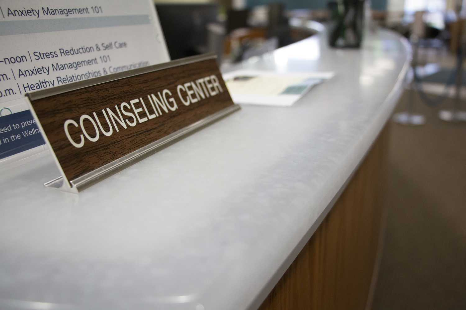 The University Counseling Center has been without a director since May 2017. (Photo by Issi Glatts | Staff Photographer)