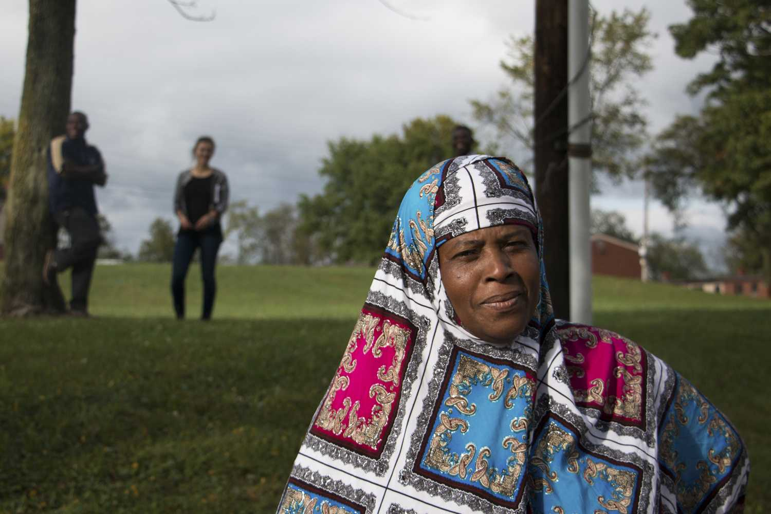 Bint Amiri, a Somali native, moved to Northview Heights after living in America for 20 years. (Photo by Christian Snyder | Multimedia Editor)