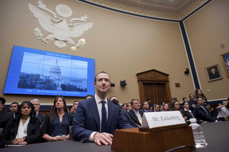 Facebook CEO Mark Zuckerberg testifies before the House Committee on Energy and Commerce Wednesday. (Erin Scott/Zuma Press/TNS)