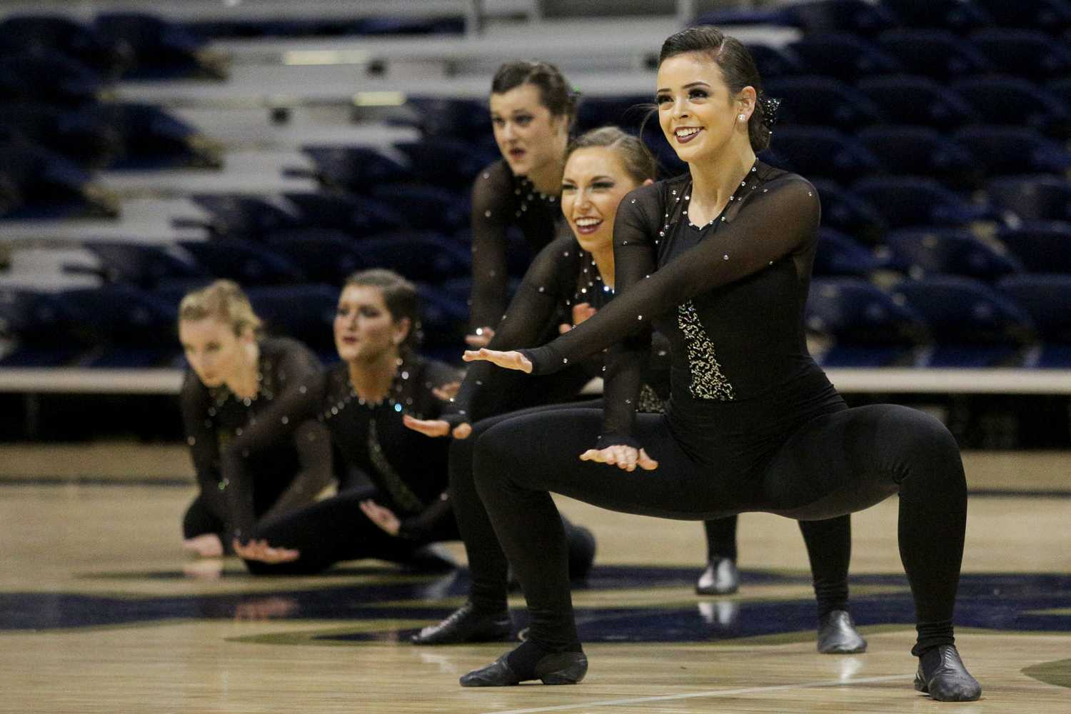 The Pitt dance team will travel to Daytona, Florida, to compete in the NDA Collegiate Dance Championship. (Photo by Thomas Yang | Visual Editor)