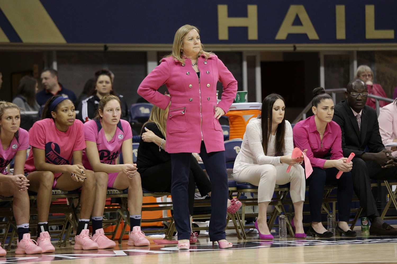 Suzie McConnell-Serio is the third coach to be dismissed by athletics director Heather Lyke. (Photo by Thomas Yang | Visual Editor)