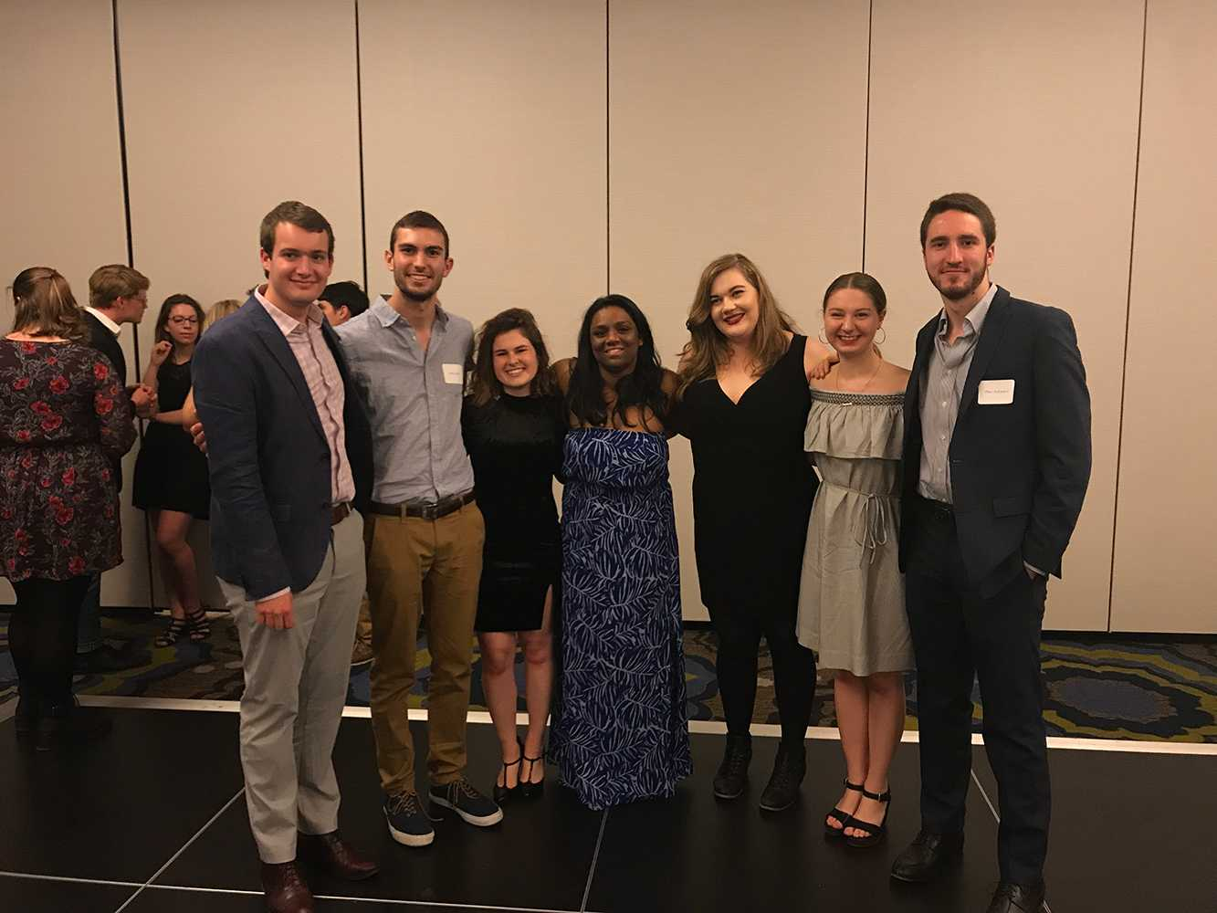 The Pitt News seniors at year end banquet Friday.