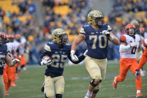 Pitt OL Alex Bookser charged with DUI