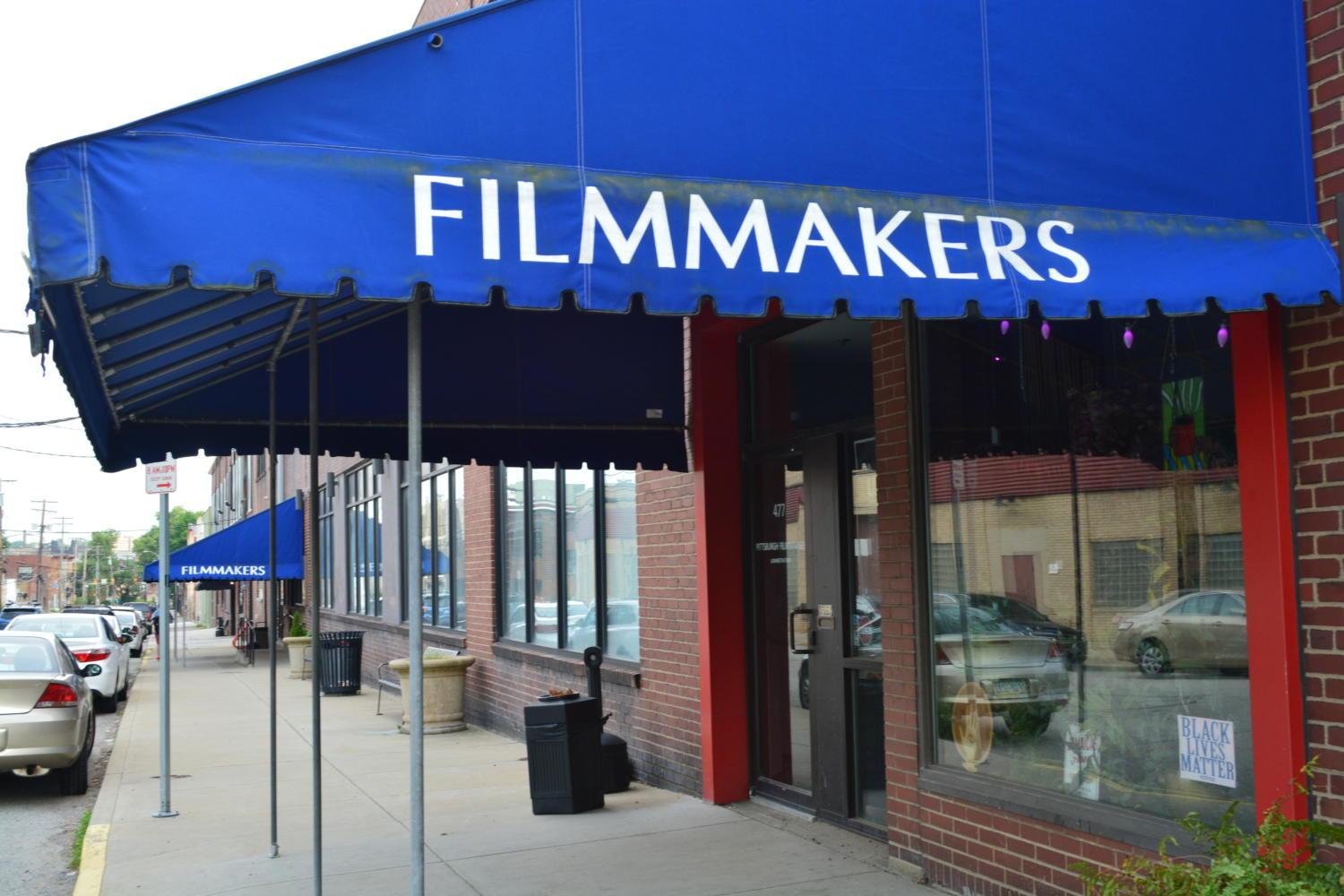 The Pittsburgh Filmmakers institute will close its Oakland location this fall amid financial difficulties. (Photo by Sareen Ali | For The Pitt News)