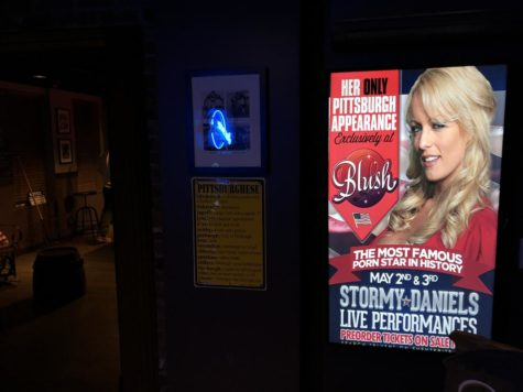 Blush advertised Stormy Daniels as